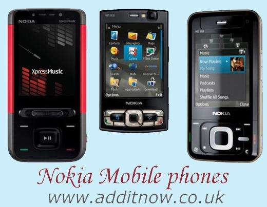 Most popular nokia mobiles