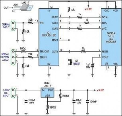 mobile circuit dagram