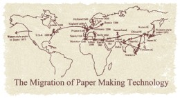 The Spread of Paper making