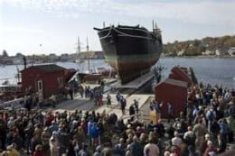 Ship at Mystic Seaport Musuem