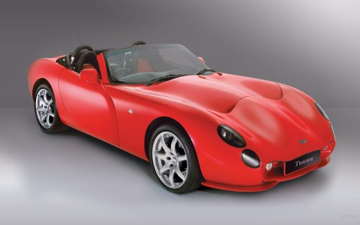 The TVR Tuscan Convertible