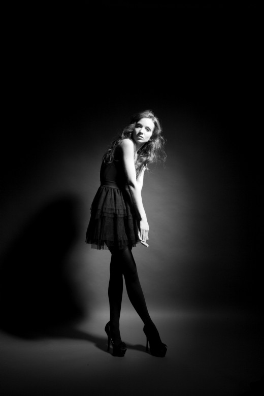 Simple way to create a high fashion photograph | beccagarr