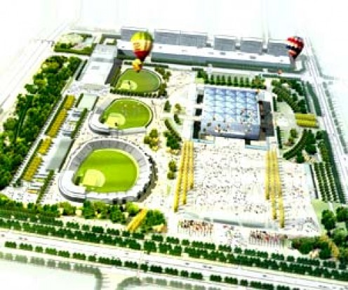 Beijing Wukesong Sports Center Baseball Field