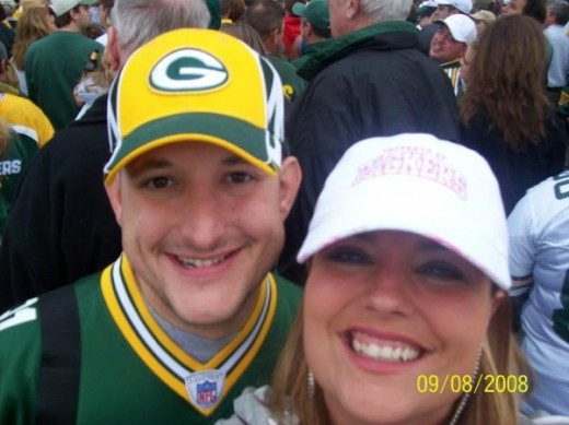 As a Wisconsin native - there is no doubt that I am a Green Bay Packer Fan! While they are having an outstanding season, games can still be stressful waiting for another win!