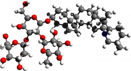 Solanine 3D Structure