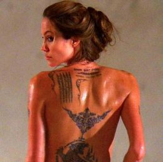 In fact, lower back tattoos are worn almost exclusively by females.