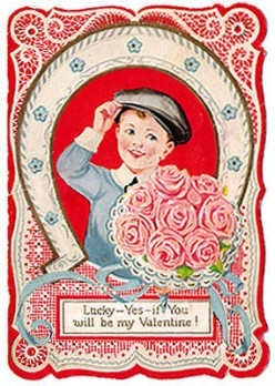 Lucky Boy with Roses (late 1930s)