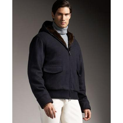Nutria in Menswear Fashion