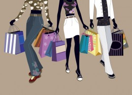 Shop till you drop and pay by credit. Once too often and you could find yourself in severe financial hardship. Spend wisely.