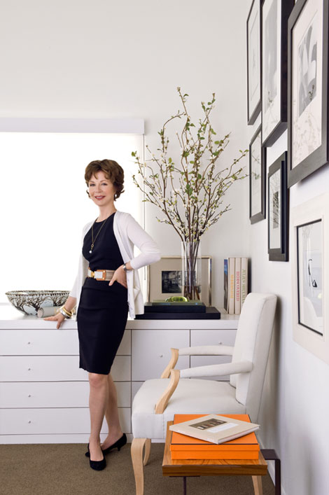Barbara Barry carries her impeccable style from home design to her wardrobe.