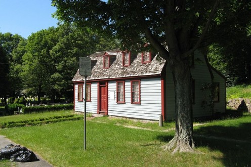 Home of Abigail Adams, birthplace. Weymouth MA.