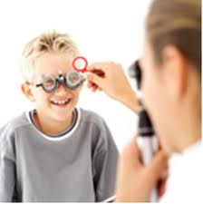 A complete eye exam is recommended for children starting at age 3.