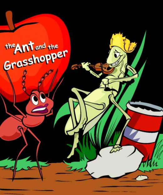The Ant and the Grasshopper