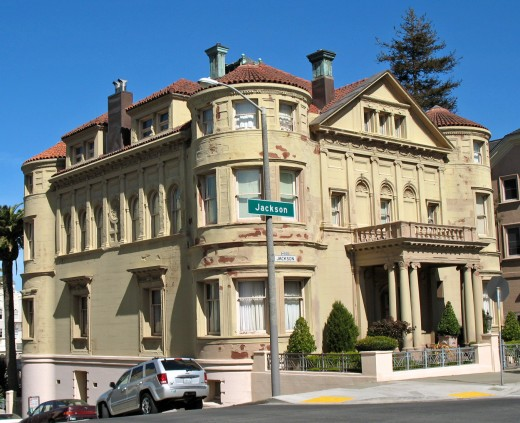 San Francisco's Historic Whittier Mansion. Is it haunted?