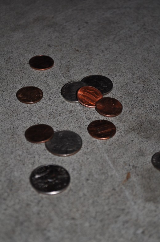 Finding money on the ground is a great way to make extra money without throwing in a lot of effort. All you have to do is bend over and pick it up!