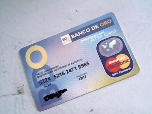 Banco de Oro ATM
