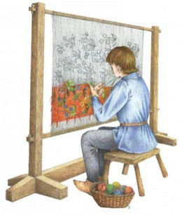 SEO is akin to a Tapestry - Individual Threads and Colors on a Loom All Making a Coherent Design