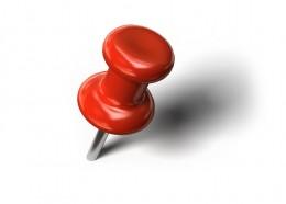 A push-pin