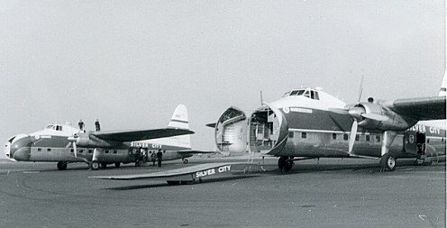 Bristol Freighter air ferries operated from Lydd