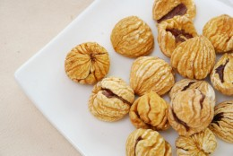 Dried Chestnuts Image:  gnohz|Shutterstock.com
