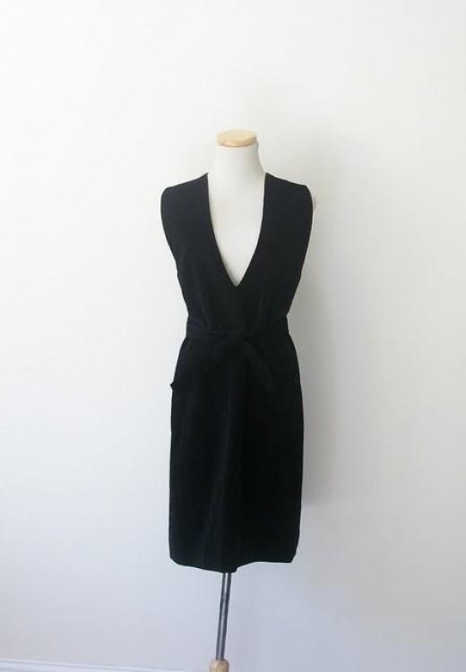 Dress #1:  Vintage Jumper Dress by Studio 1950 on etsy.com.