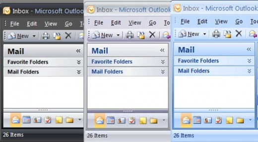 microsoft outlook themes