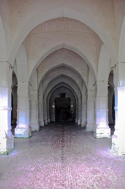 White Pillars & Arch