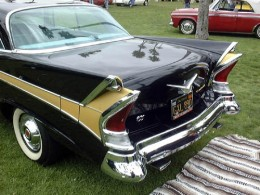 The rear end of the '58 Packard was indeed the end of the Packard.