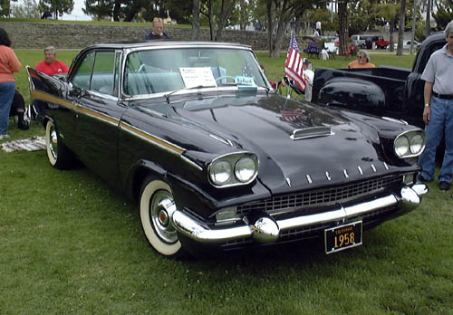 The '58 Packard's Studebaker origins are thinly disguised.