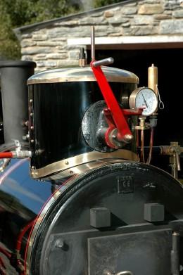 "19"" gauge Great Laxey Mines Railway - backhead and boiler details -  David Lloyd-Jones 2010"