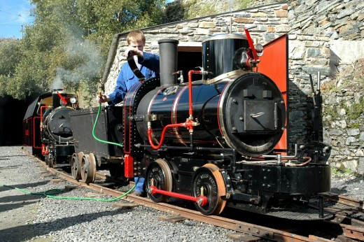 "19"" gauge Great Laxey Mines Railway at Laxey on the Isle of Man  David Lloyd-Jones 2010"