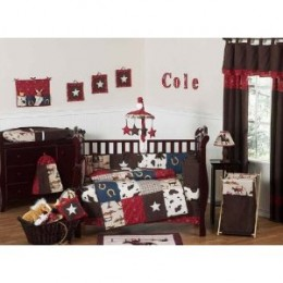 Wild West Baby 9PC Bedding Set