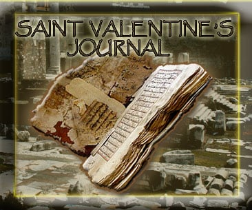 Saint Valentin's Personal Journal