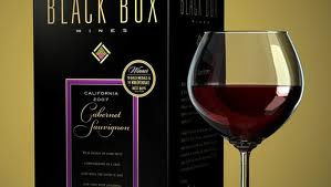 Enjoy a boxed red wine