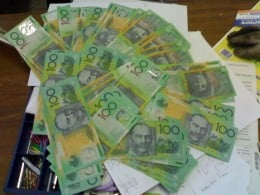 The almighty dollar. This is what 6k looks like in Aussie dollars.