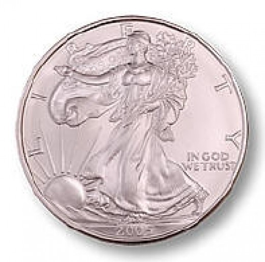 This is a U.S. Silver Eagle. It is .999 fine silver