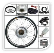 A Typical Electric Bike Conversion Kit
