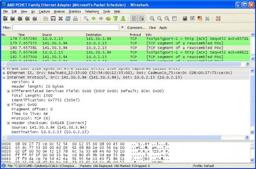 Beginner 39 s guide to wireshark part 3 the tcp handshake hubpages - Wireshark filter destination port ...