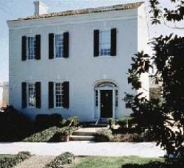 James K. Polk House, Columbia, Tenn., built by his parents in 1816.