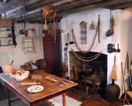 Grouseland warming kitchen.