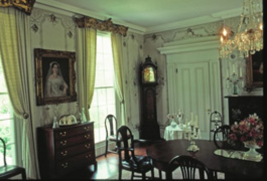 Sherwood Forest is still a private residence owned by the Tyler family.