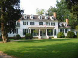 Sherwood Forest, the ca 1720 home of John Tyler, is the longest frame home in the U.S. and features a residential ghost.