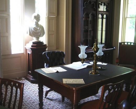 Van Buren's office at Lindenwald.