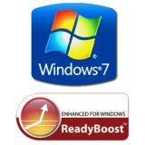 ReadyBoost Windows 7 Logo