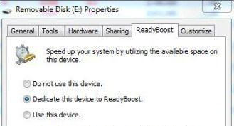How to disable Windows 7 ReadyBoost?