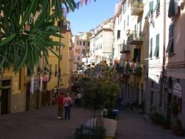 A street in Riomaggiore