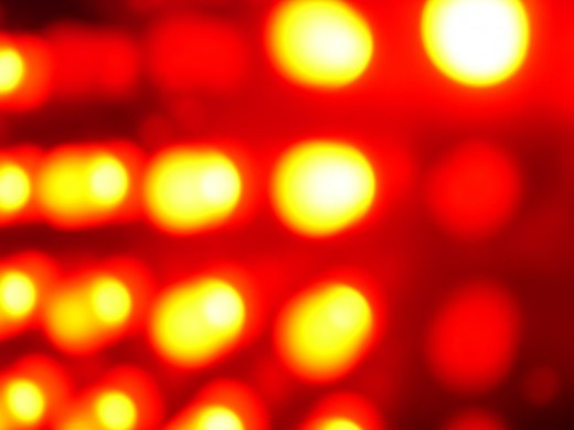 Red LEDs have been among the most popular applications, they aren't particularly useful for TVs