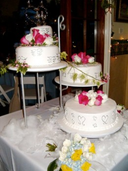 Wedding Cake is a big ticket item too sometimes.  Shop around for the best deals for what you want.