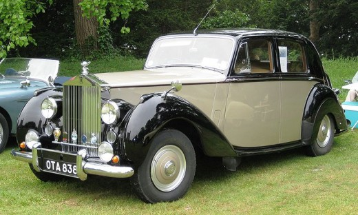 Later perhaps, people can save up for higher ticket items.  I like this old Rolls Royce from 1953.