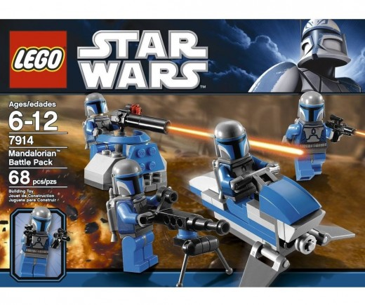 LEGO Star Wars 7914 Mandalorian Battle Pack - The box again!